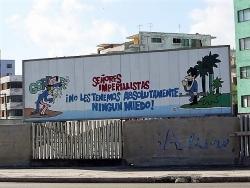 Havana, Cuba billboard
