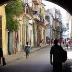 View sidestreet Havana, Cuba