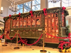 gingerbread trolley at Ritz NOLA