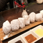 Beignets at Blue Dog M Bistro at Ritz NOLA