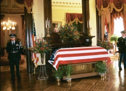 Governor Carnahan's funeral