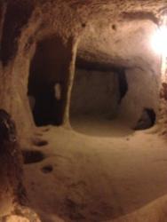 Caves in Cappadocia. Turkey