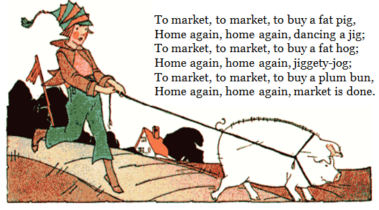 Poem: To Market, to Market
