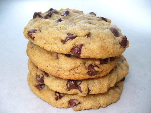 Chunky Chocolate Peanut Butter Cookies