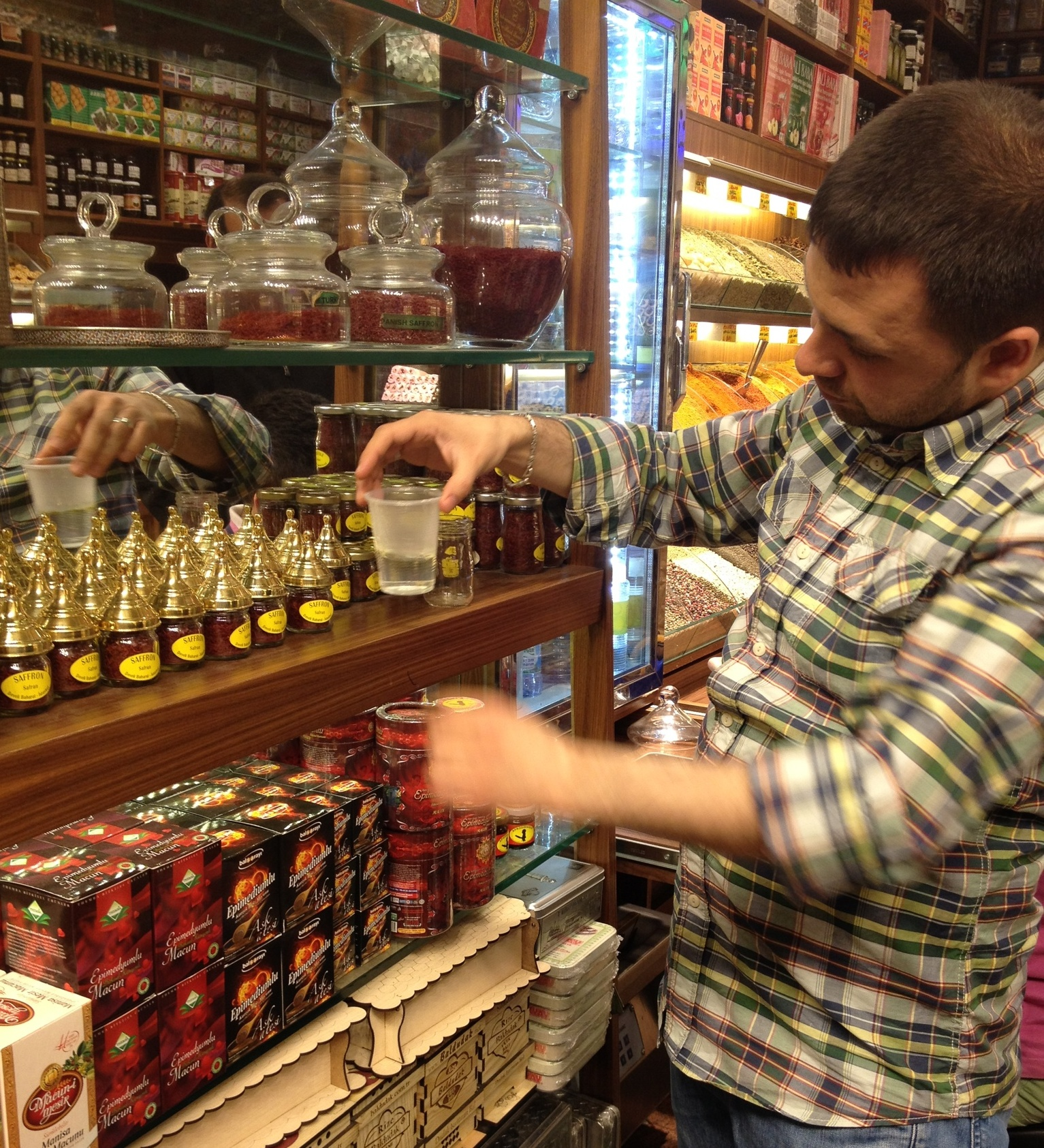 Istanbul spice shop