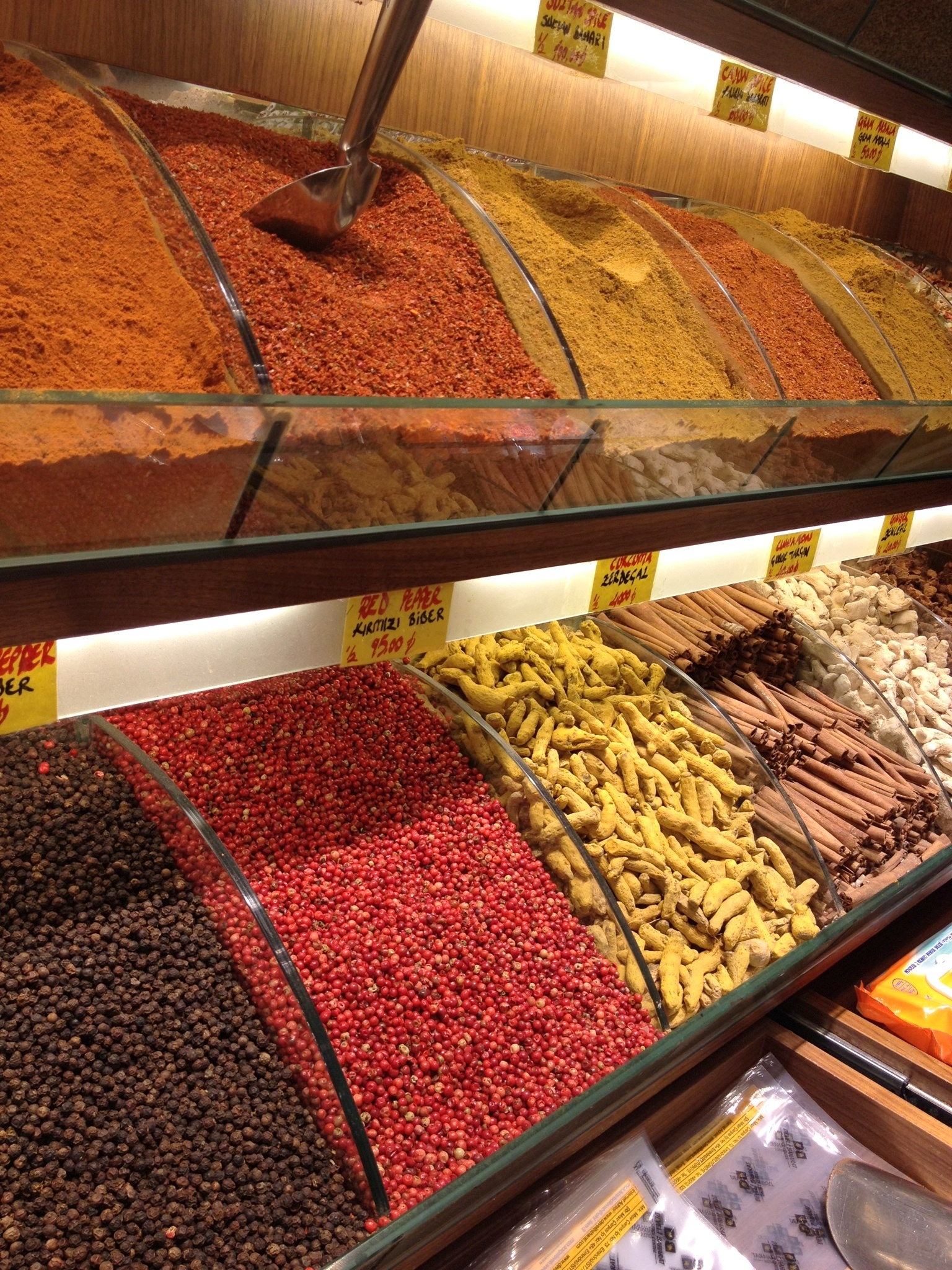 The spices of Istanbul