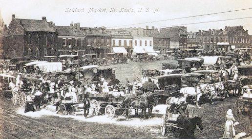 Soulard market old