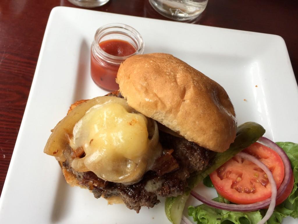Bailey's Range burger