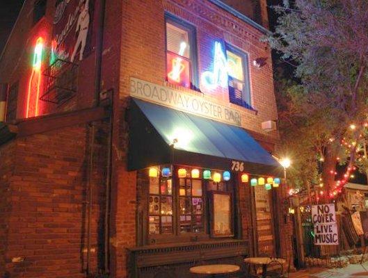 Broadway Oyster Bar exterior