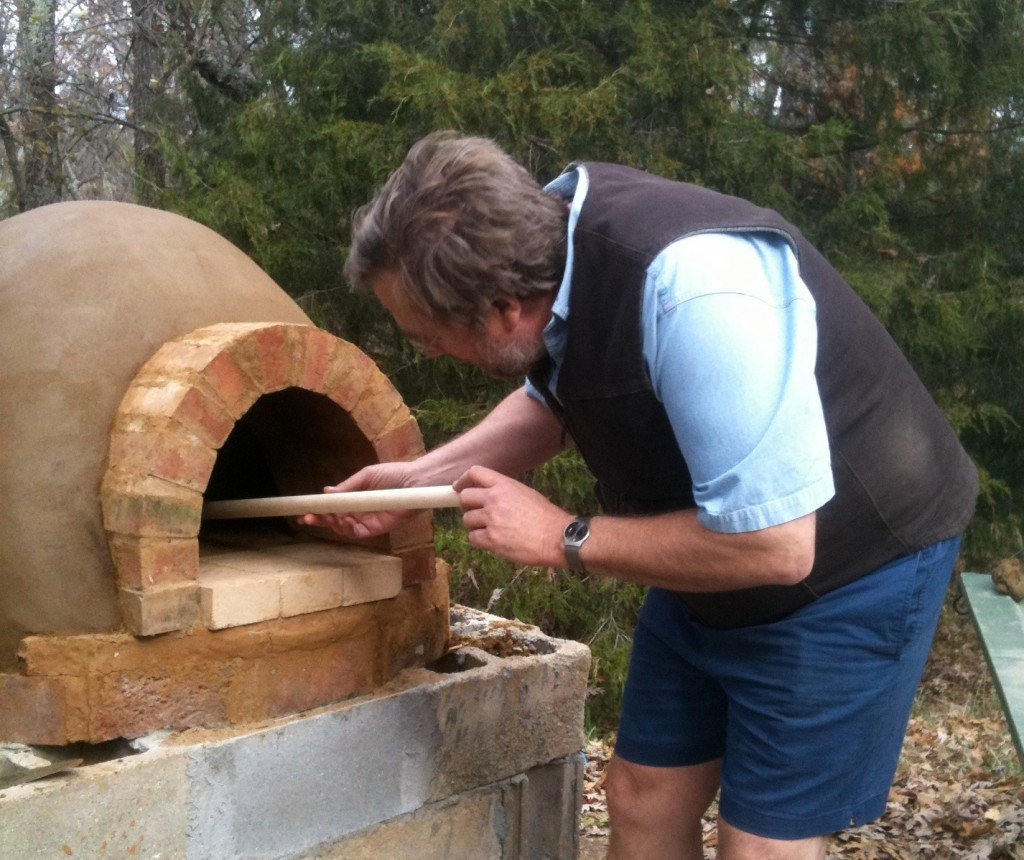 John , building pizza oven 2011
