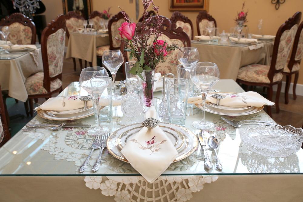 mary ann's tea room table