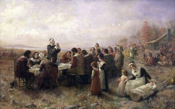 First Thanksgiving Plymouth