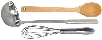 whisk, spoon
