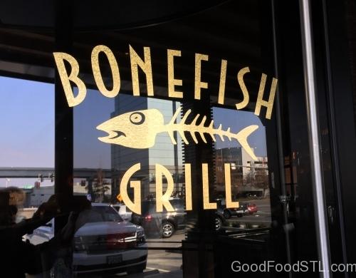 Bonefish window sign