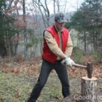 Chopping Wood for Fun and Fire