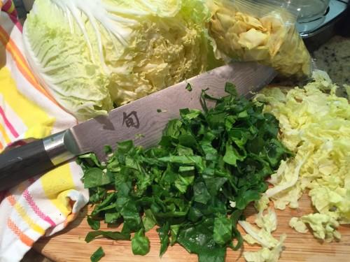 minestrone spinach cabbage