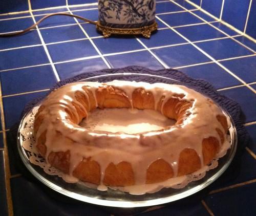 King Cake iced