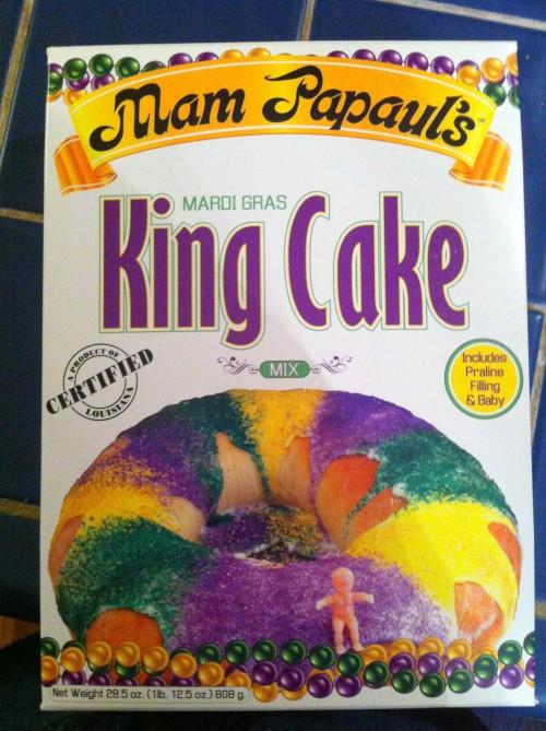 King Cake box