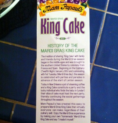 King Cake meaning