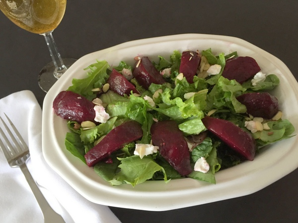 Beet Salad with Onions
