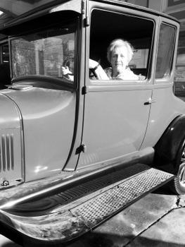 Jean in Model T