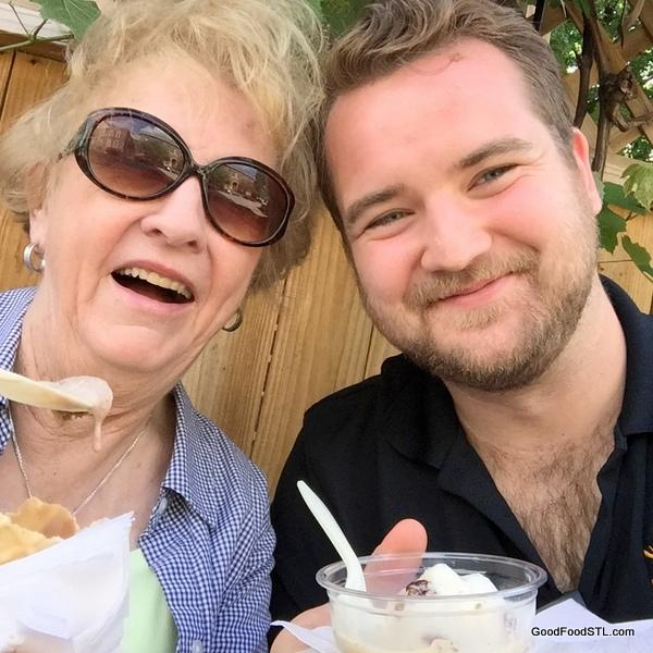 Clementine's ice cream Jean and Andrew