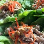 Pork Lettuce Wraps