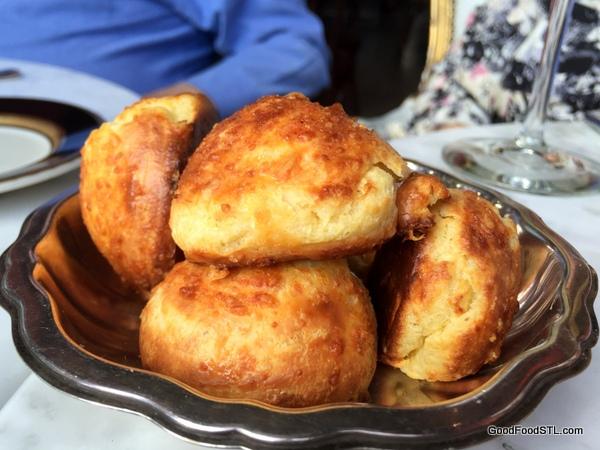 Gougères served at Bar Les Freres