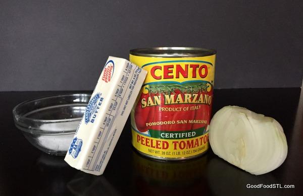 Marcella Hazan tomato sauce *