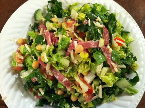 Chopped salad La Scala