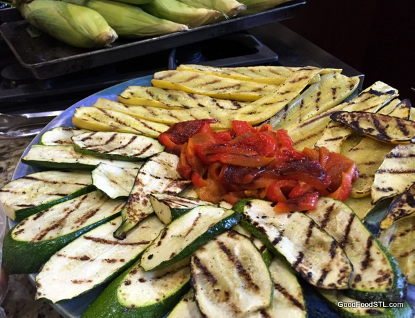 Robin roasted squash and peppers *