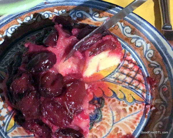 Angela's Plum Tartin was a scrumptious and perfect ending to a grand and memorable evening.
