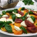 Tomato Caprese: Colorful Summertime Easy Salad