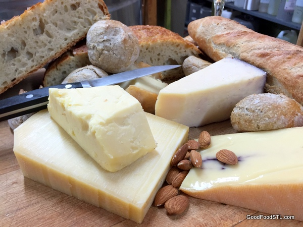 Bread and cheese*