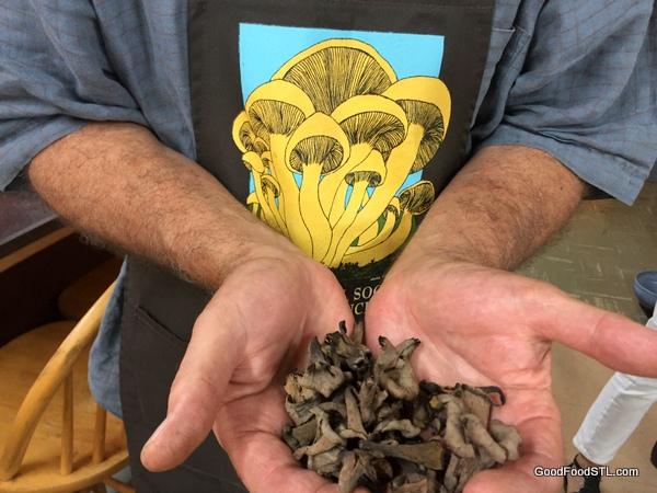 black trumpet mushrooms ken gilberg
