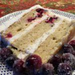Cranberry White Chocolate Cake