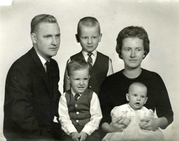 Carnahan family, 1961