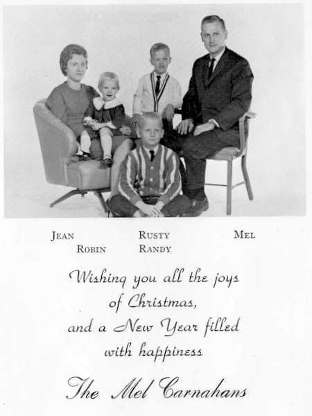 Carnahan family, 1962