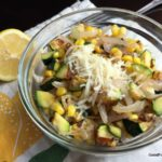 Charred Corn and Zucchini