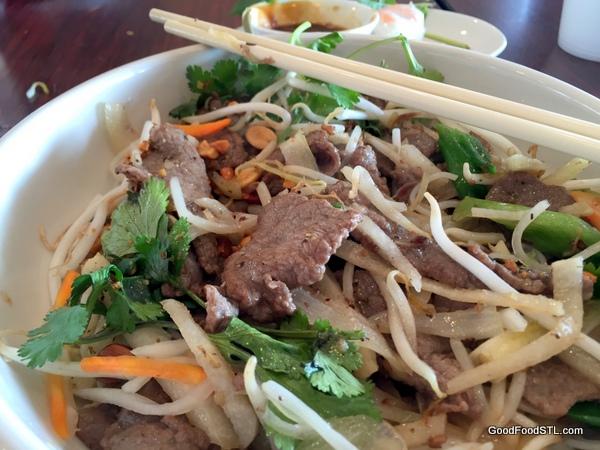 Beef Bun kim ngan Vietnamese