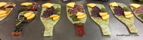 Cheese board, Festhalle Restaurant, Hermann, MO