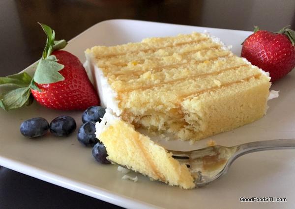 Miss Hulling's Split Lemon Cake