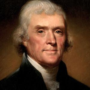 Jefferson thomas portrait