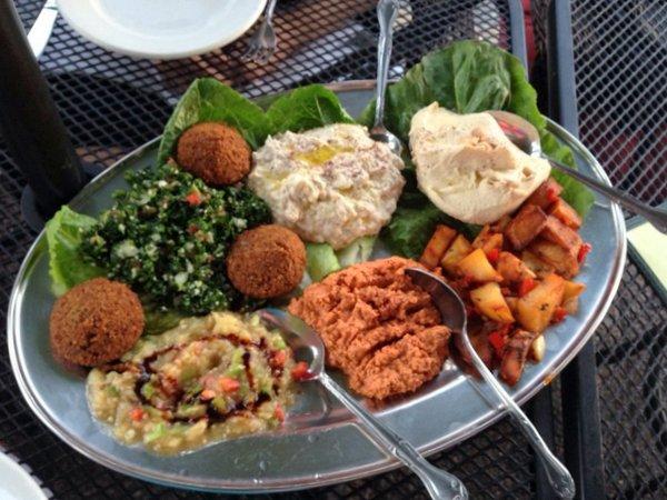 Ranoush vegetarian mezza