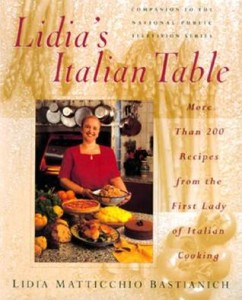 lidia's kitchen table book
