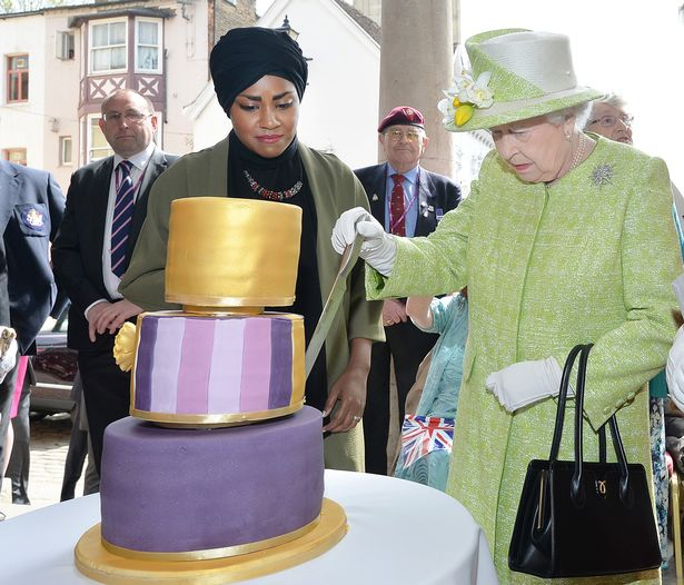 queen birthday cake2