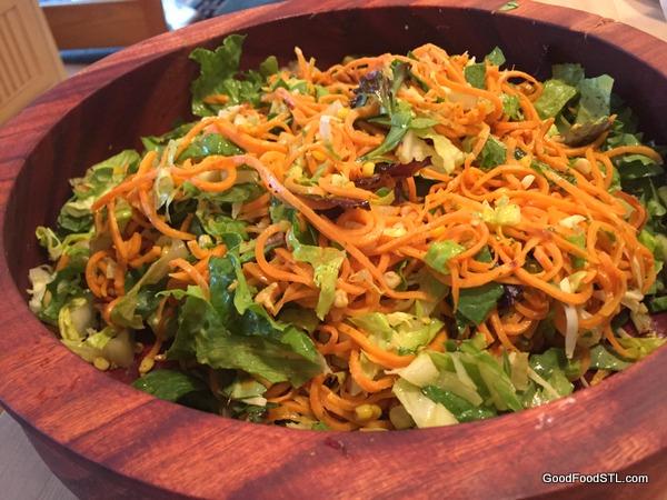Sweet Potato Noodle Salad