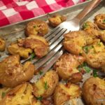 Crispy Lemony Potatoes: A Rustic Side Dish
