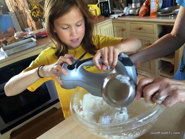 harper cake mixing