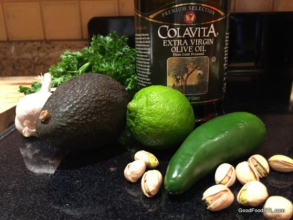Ingredients for Magic Green Sauce